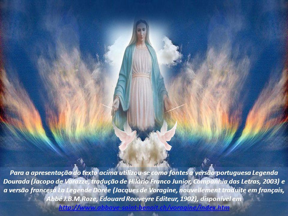 Ouvindo isso, o cavaleiro foi tomado de grande pavor, jogou-se aos pés do homem de Deus, pediu perdão, e a partir desse dia mudou seu modo de viver.