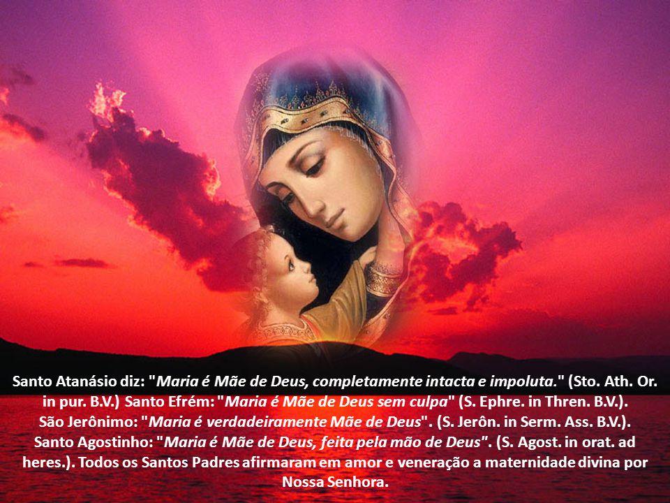 São Tiago: Maria é Santíssima, a Imaculada, a Gloriosíssima Mãe de Deus (S.