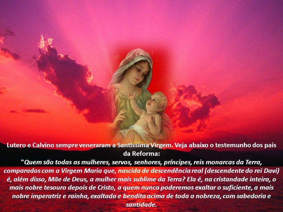 Santo Atanásio diz: Maria é Mãe de Deus, completamente intacta e impoluta. (Sto.