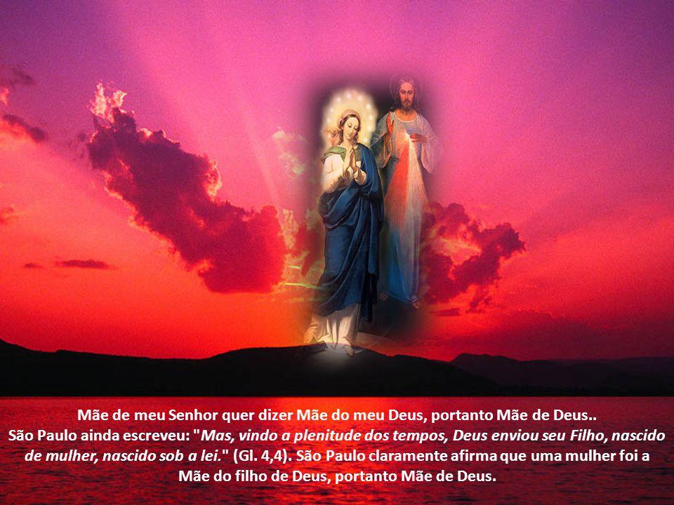 O Arcanjo Gabriel disse: