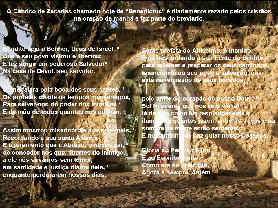 . A tradição, apoiada por São Basílio e São Cirilo de Alexandria, assegura que Zacarias morreu como um mártir, morto pelos romanos no templo entre o p