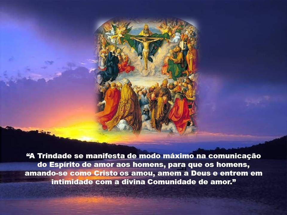 Caríssimos, Depois do domingo de Pentecostes, que encerra o Tempo Pascal, entra-se novamente no Tempo Comum. A Solenidade da Santíssima Trindade é a p