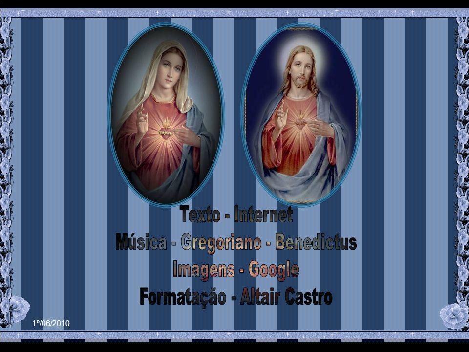 Por isso ela também não separava da devoção ao Coração de Jesus, a devoção ao Coração de Maria.