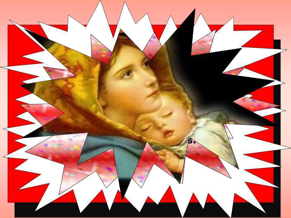 Maria, nossa Mãe, é a cheia de graça e também possui a plenitude da alegria.