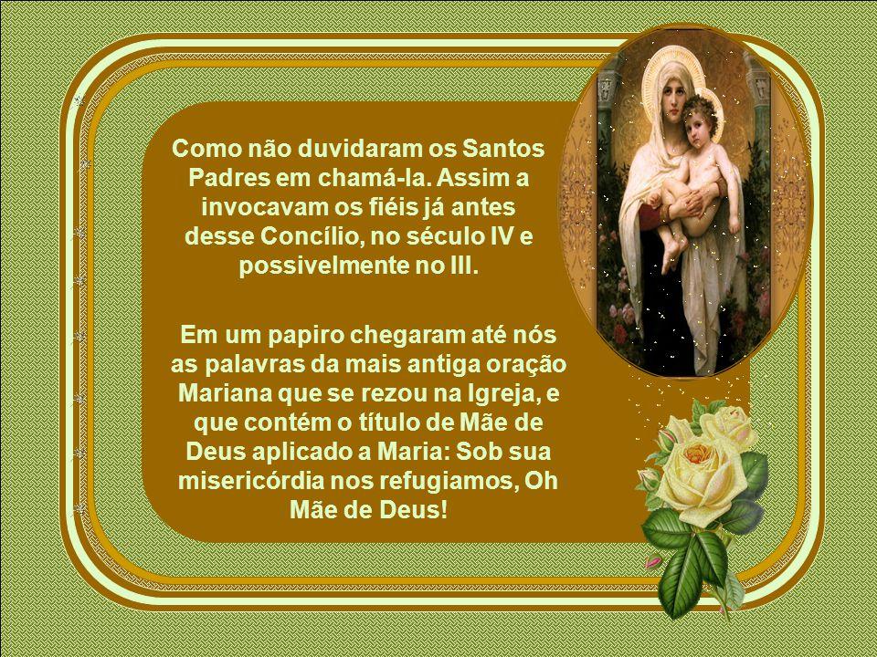 A relação fundamental de Maria com respeito a seu Filho Jesus é a de sua Maternidade.