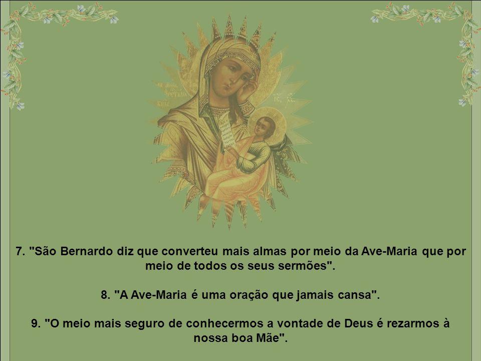 5. Nesse período [antes do Natal], Jesus e Maria eram por assim dizer uma só pessoa.