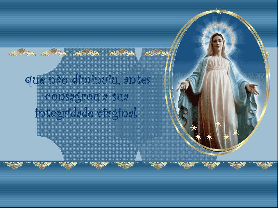 estremecendo o precursor de alegria no seio de sua mãe e depois, no nascimento, quando a Mãe de Deus, cheia de alegria, mostrou aos pastores e aos mag