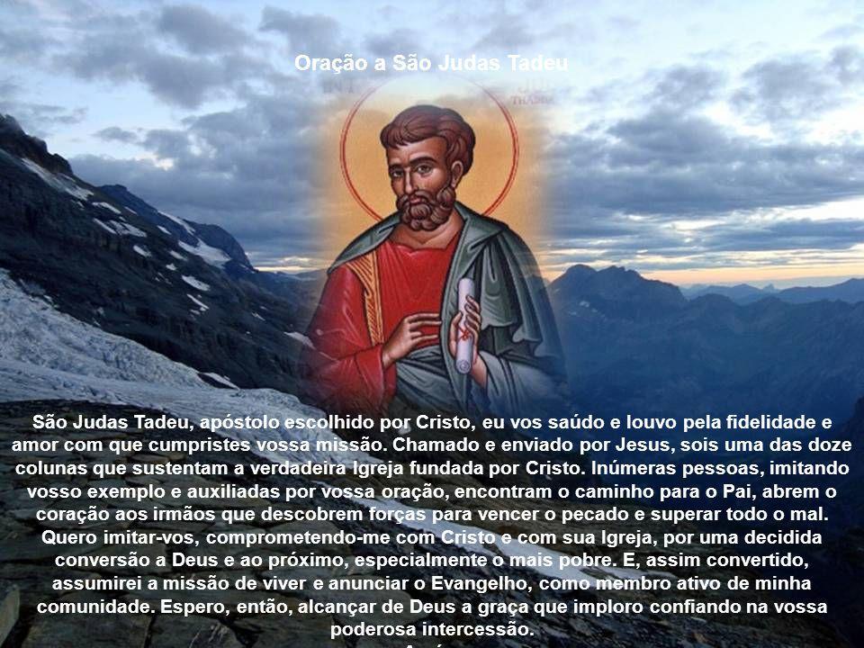 Oração a São Simão Misericordioso São Simão, vós impusestes as vossas mãos a tantos doentes, e pela invocação do Santíssimo Nome de Jesus, lhes restit