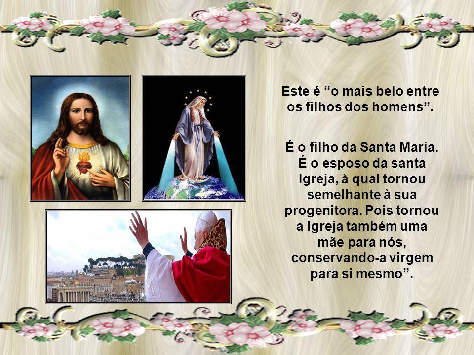 CARÍSSIMOS, Como nos diz o comentário ao sermão 195, 1-3, de Santo Agostinho, Maria pertence ao mistério de Cristo.