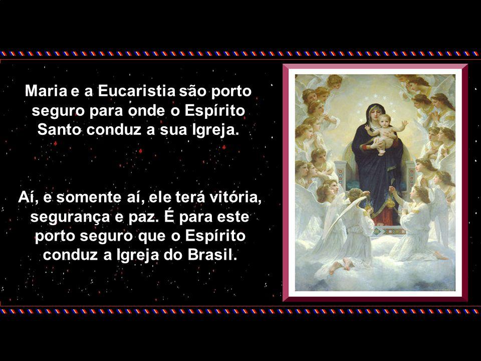No ano passado, nós tivemos, por escolha do Papa João Paulo II, o ano Eucarístico, tempo de graça maravilhosa para toda a Igreja. Neste ano, justament