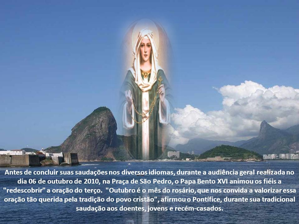 Em suas diversas aparições a pessoas de fé, no decorrer da história do mundo, Maria sempre nos alertou e alerta sobre as misérias mundanas que podemos evitar, sanar, combater.