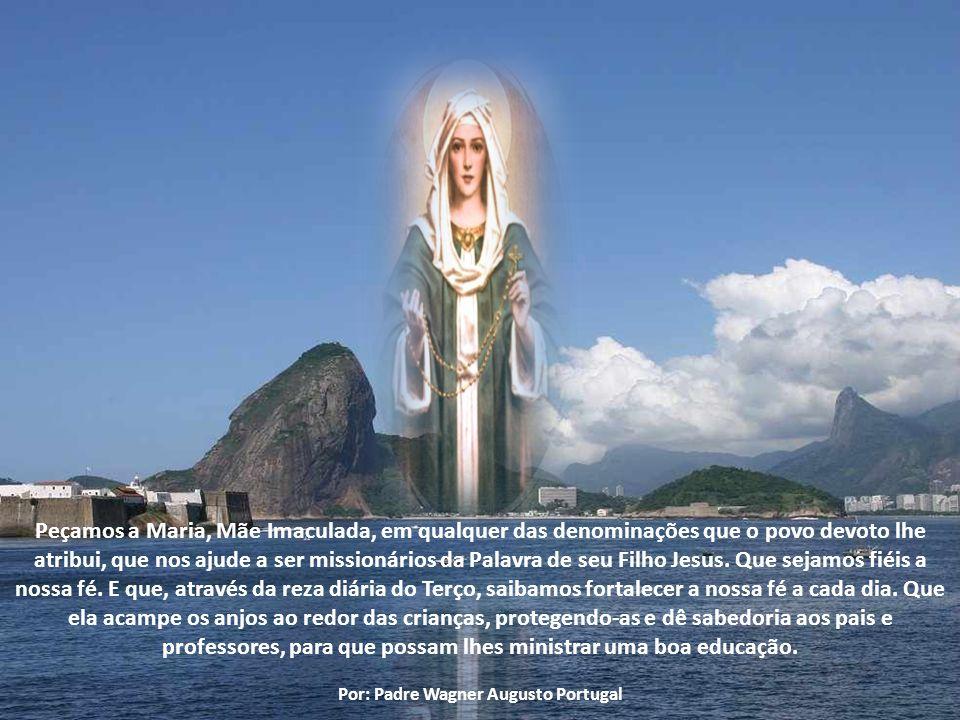 Recordando que no dia 07 de outubro a Igreja celebra Nossa Senhora do Rosário, o Papa convidou os jovens a