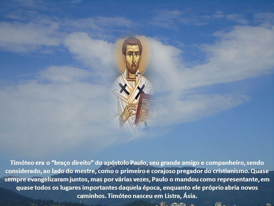 O calendário da Igreja volta a homenagear Timóteo, agora juntamente com Tito, por terem ambos vivenciado toda a experiência de São Paulo, escolhendo p