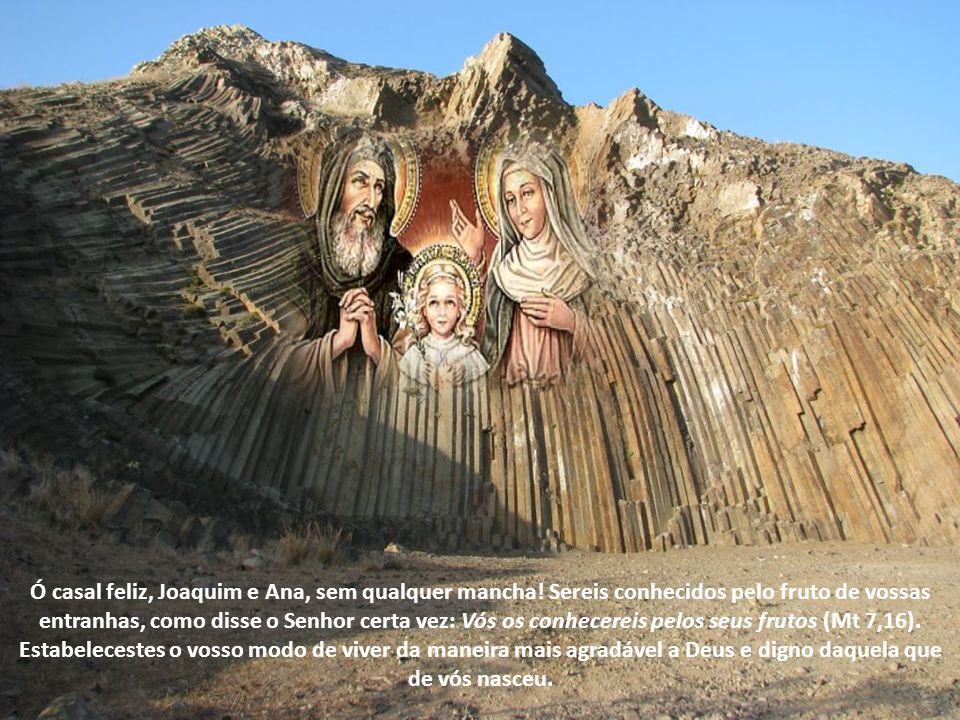Alegra-te, Ana estéril, que nunca foste mãe, exulta e regozija-te, tu que nunca deste à luz (Is 54,1).