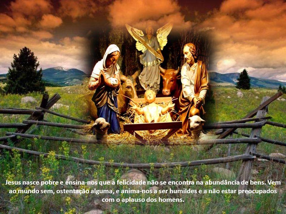 No presépio contemplamos Jesus, recém nascido, que não fala; mas é a Palavra eterna do Pai. Já se disse que o Presépio é uma cátedra. Nós deveríamos h