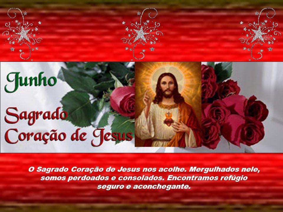 Caríssimos, Mês do Coração de Jesus, das festas juninas, da natividade de São João Batista e também do Imaculado Coração de Maria. Jesus nos diz: ning