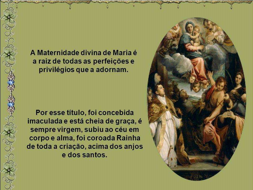 Maria, a Mãe santa do nosso Rei, a Rainha do nosso coração, cuida de nós como só tu sabes fazê-lo. Mãe compassiva, trono da graça, pedimos-te que saib