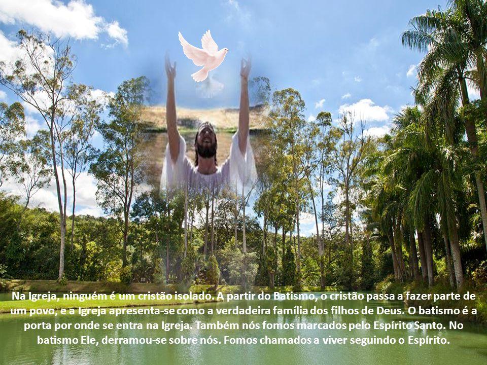 Graças ao sacramento do Batismo tu te converteste em templo do Espírito Santo: não te passe pela cabeça – exorta São Leão Magno – afugentar com as tua