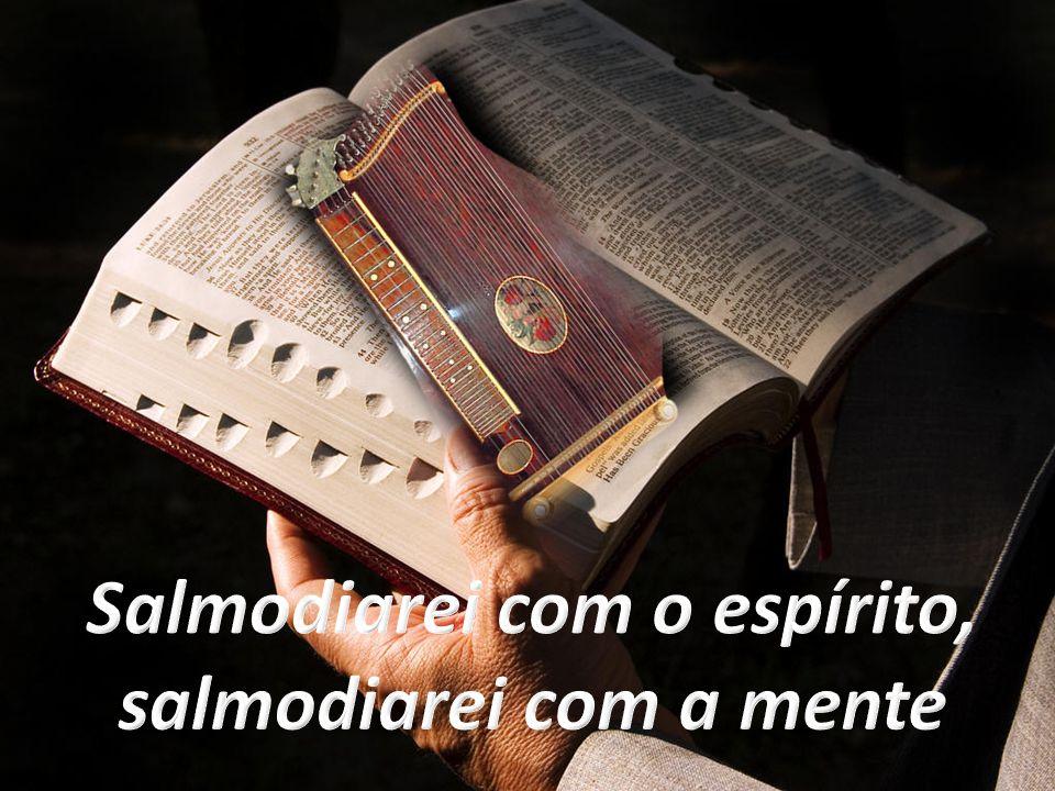 Sl 91(92),2.4 Como é bom agradecermos ao Senhor.E cantar salmos de louvor ao Deus Altíssimo.