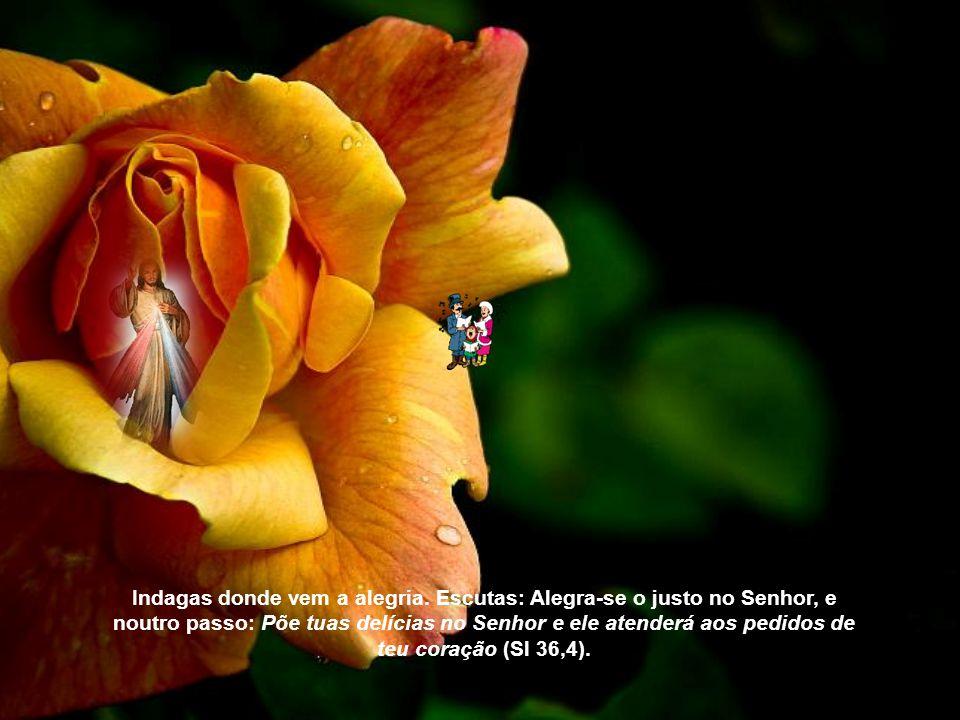 O justo alegra-se no Senhor e nele espera; e gloriam-se todos os retos de coração (Sl 63,11). Acabamos de cantá-lo com a voz e com o coração. A consci