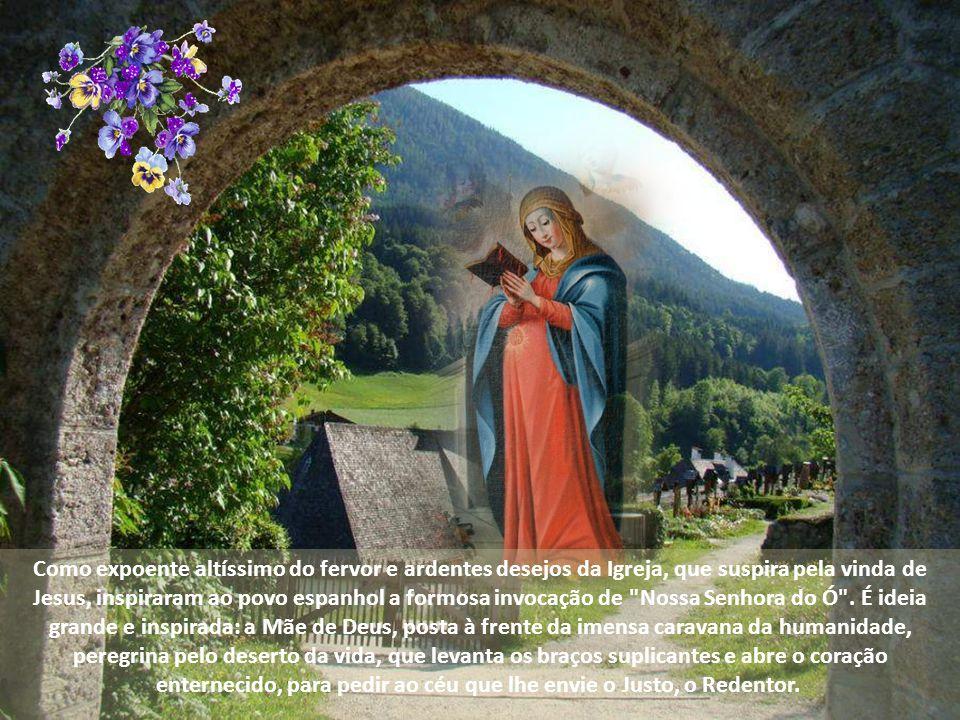 Dia 22 de dezembro Ó Rei das nações, Desejado dos povos; Ó Pedra angular, que os opostos unis: Oh! Vinde e salvai este homem tão frágil, que um dia cr