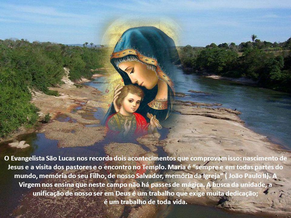 Maria oferece a Igreja um caminho de espiritualidade.