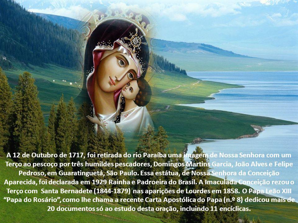 O rosário até João Paulo II A partir de então, o Rosário aparece em múltiplos momentos da vida da Igreja.