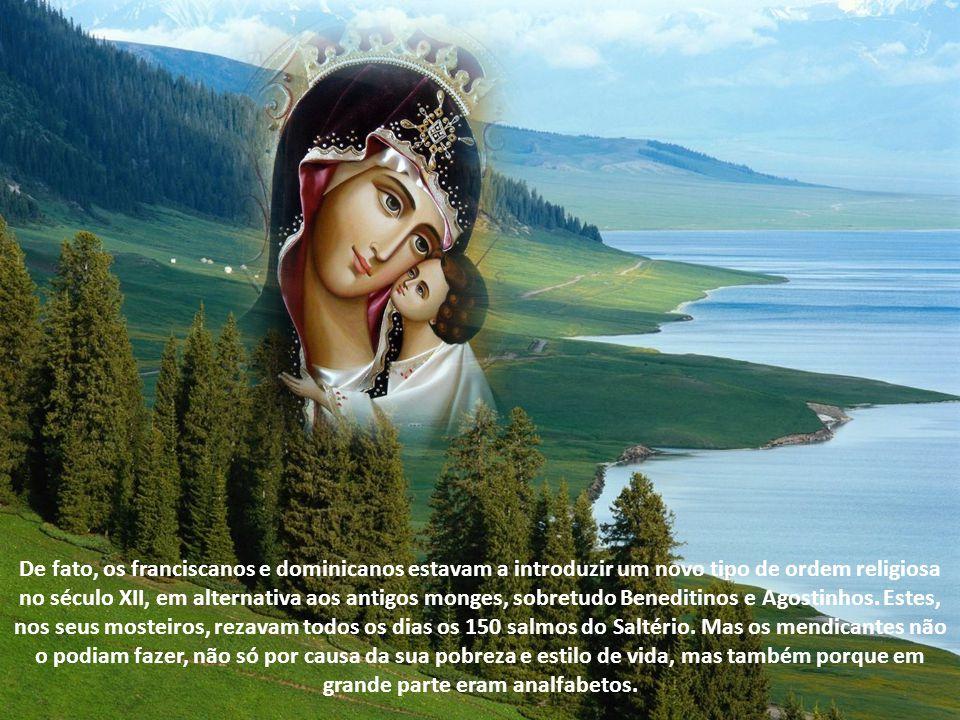O Nascimento do Rosário O Rosário é uma oração cuja origem se perde nos tempos.