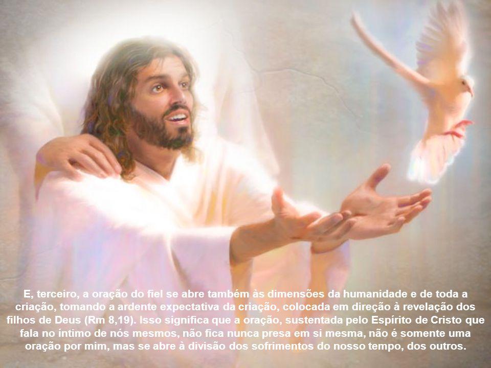 A resposta de Deus Pai ao Filho, aos seus fortes gritos e lágrimas, não foi a libertação dos sofrimentos, da cruz, da morte, mas foi uma realização mu