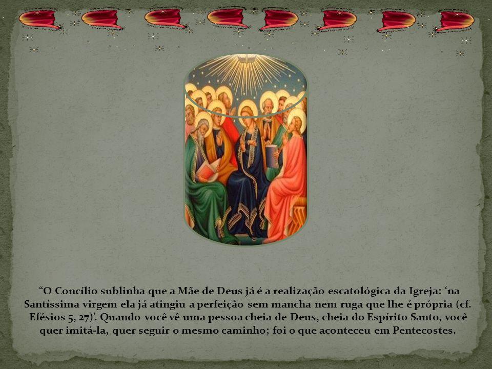 A verdadeira Igreja, Católica Apostólica Romana, fundada por Jesus Cristo, nasce neste dia de Pentecostes, nasce do derramamento do Espírito Santo; na