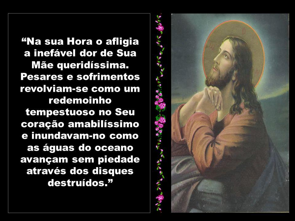 O cumprimento da Vontade do Pai obriga Jesus a separar-se dos seus, mas o Seu amor, que O impele a permanecer conosco, move-O a instituir a Eucaristia