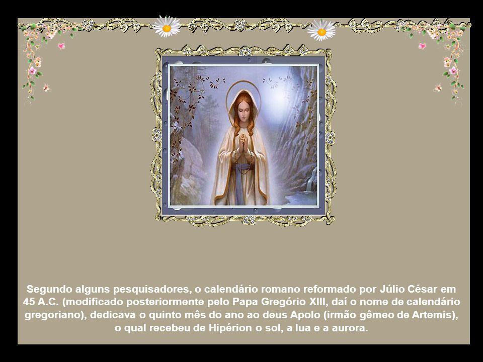 Ali invocamos a Mãe de Cristo com alguns títulos importantes: Rosa Mística e Estrela Matutina. A estrela da manhã é o sol, o dia, a aurora. Do Céu, Ma