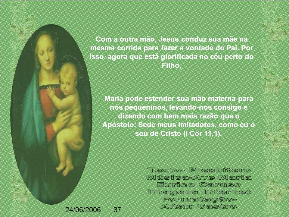Ensinou a Maria a renuncia de si mesma. A seus seguidores de todos os séculos, Jesus os dirige mediante o seu Evangelho; sua mãe, porém dirigiu-a de v