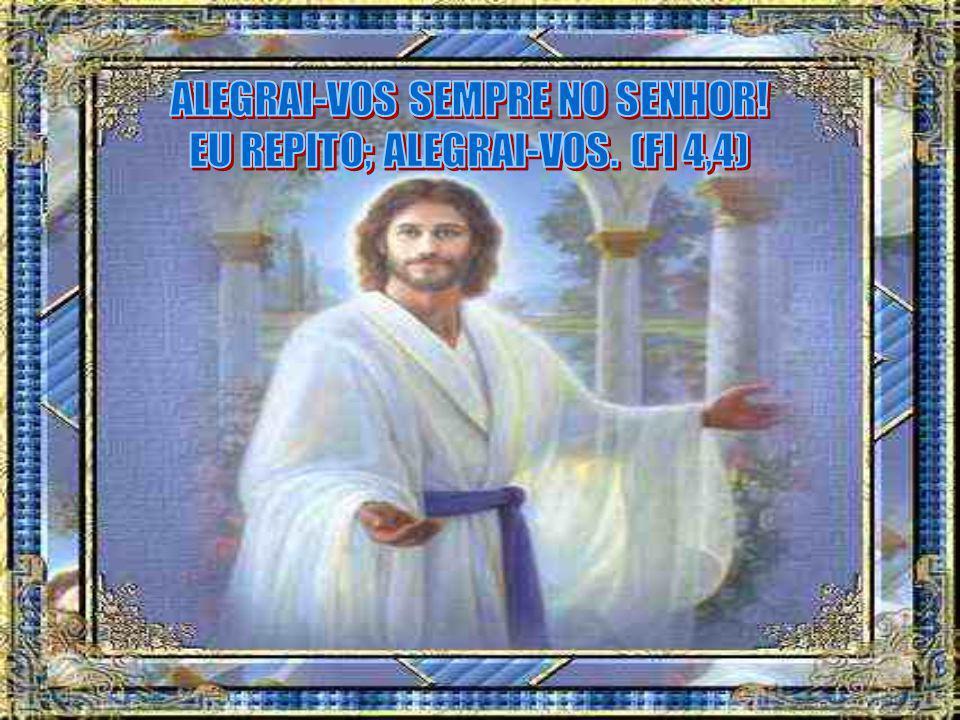 Concretamente, levemos a alegria do Senhor: num sorriso, numa palavra cordial, num elogio, na paz, no amor, no afeto aos irmãos.