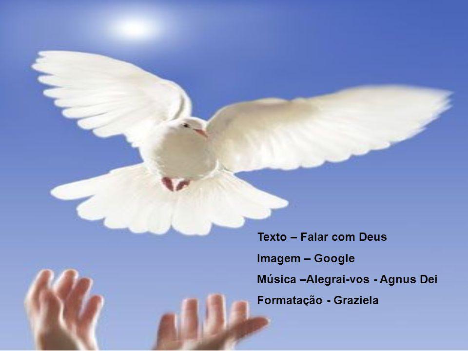 Texto – Falar com Deus Imagem – Google Música –Alegrai-vos - Agnus Dei Formatação - Graziela