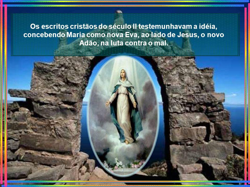 Tanto no Oriente como no Ocidente, há grande devoção à Maria enquanto mãe de Jesus e Virgem sem Pecados , notados desde os primórdios do cristianismo, quando o dogma da Imaculada Conceição já era tido para os fiéis como verdade de fé.OrienteOcidenteJesuscristianismo