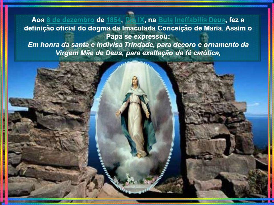 Na Itália do século XV o franciscano Bernardino de Bustis escreveu o Ofício da Imaculada Conceição, com aprovação oficial do texto pelo Papa Inocêncio XI em 1678.