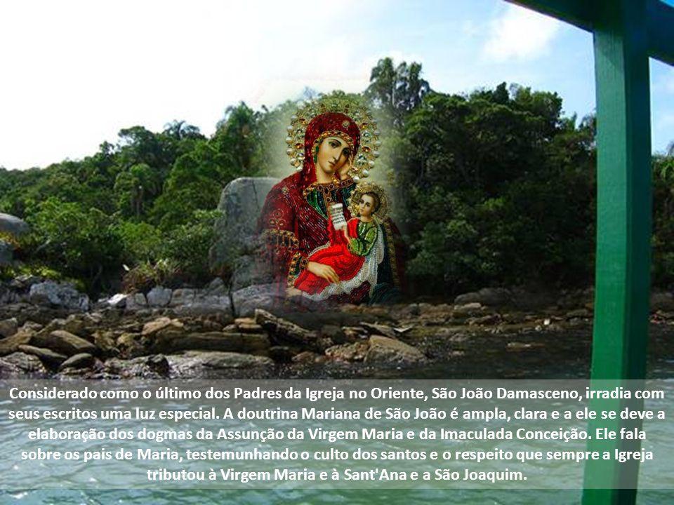 Considerado como o último dos Padres da Igreja no Oriente, São João Damasceno, irradia com seus escritos uma luz especial.