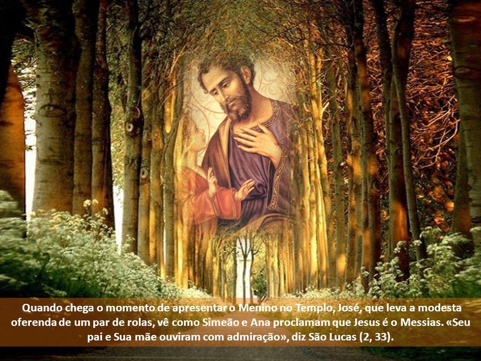 Para São José, a vida de Jesus foi uma contínua descoberta da sua vocação.