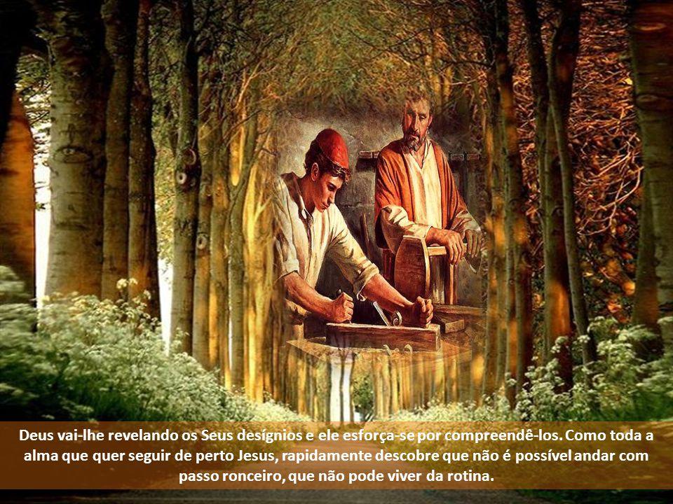 Mais tarde, quando o Menino fica no templo sem que Maria e José o saibam, ao encontrá-Lo de novo depois de O procurarem três dias, o mesmo evangelista narra que «se maravilharam» (2, 48).