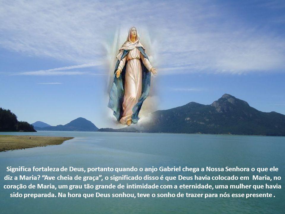 Quem é íntimo Dela é íntimo da Eucaristia, quem é íntimo de Nossa Senhora é íntimo dos Sacramentos, quem é íntimo dos Sacramento é intimo do céu e que