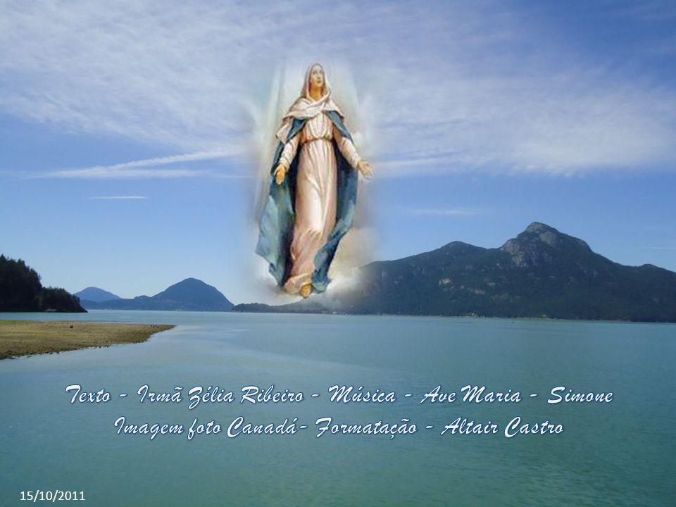 Nossa Senhora era uma mulher preparada por Deus, todo ser de Maria era pertença de Deus, por causa da entrega dela diária, todos os dias Maria reconhe