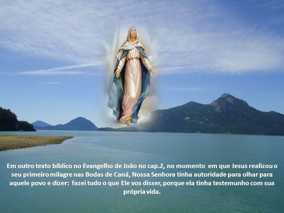 Nossa Senhora era uma mulher preparada por Deus, todo ser de Maria era pertença de Deus, por causa da entrega dela diária, todos os dias Maria reconhecia a grandiosidade do Senhor.