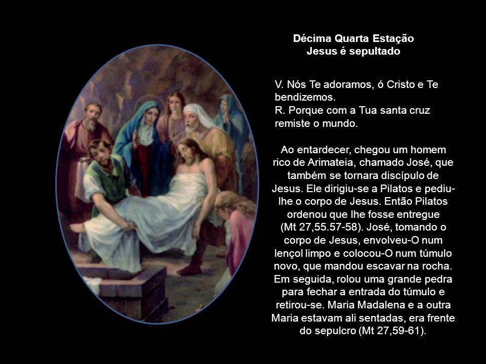 Estavam ali muitas mulheres, a olhar de longe; elas tinham seguido Jesus desde a Galileia para O servir... Os soldados escolhidos para estarem de serv