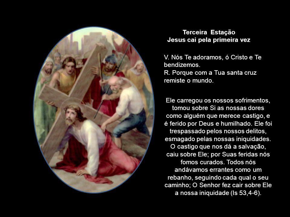 Então os soldados do governador, levando Jesus para o Pretório, reuniram toda a corte. Despiram-nO e puseram-Lhe uma capa escarlate e, tecendo, uma co