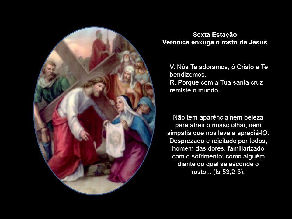 Quando eles levavam Jesus para ser morto, Simão, um cireneu que acabava de entrar em Jerusalém vindo do campo, foi forçado a acompanhá-los, transporta