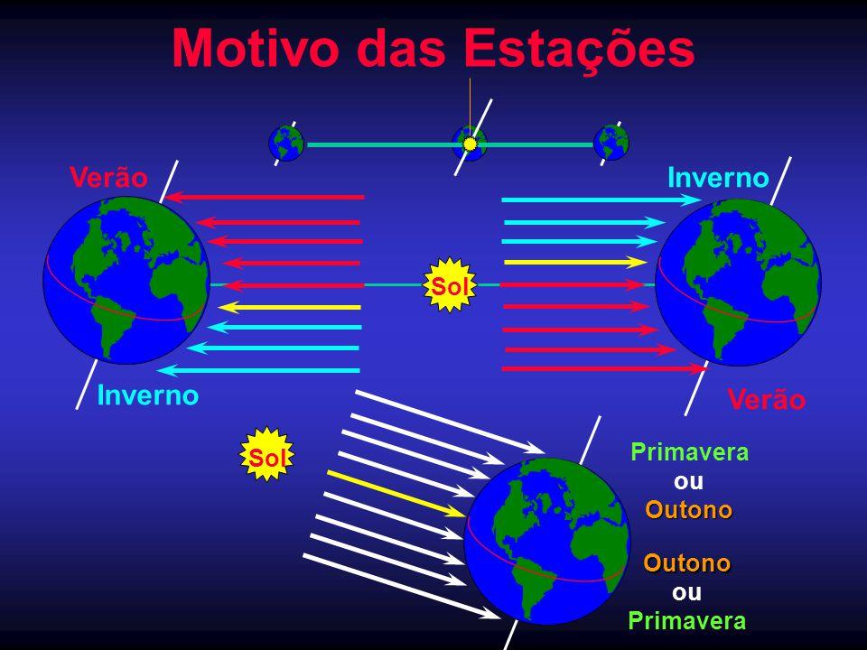 Motivo das Estações Sol Verão InvernoVerão Inverno Sol Primavera ouOutono Outono Primavera