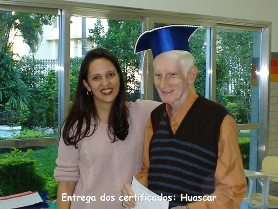 Entrega dos certificados: Huascar