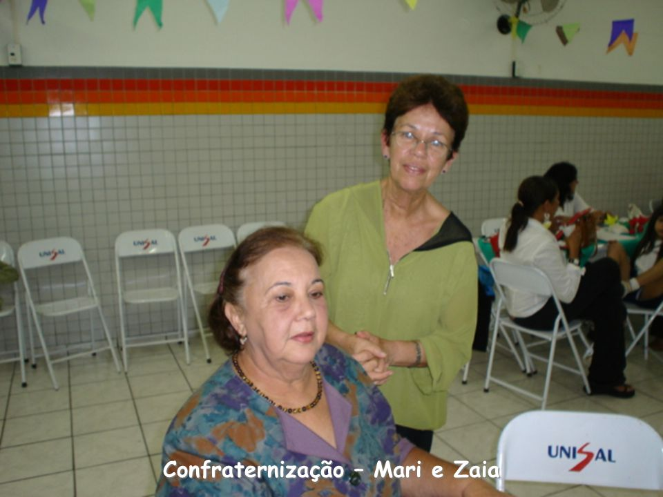 Confraternização – Mari e Zaia
