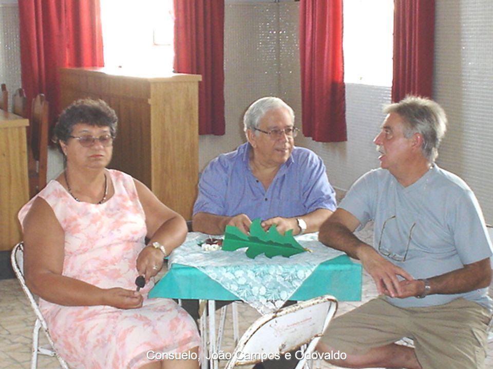 Consuelo, João Campos e Odovaldo